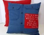 Button Down Shirt Pillows