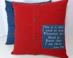 Memorial Shirt Pillows