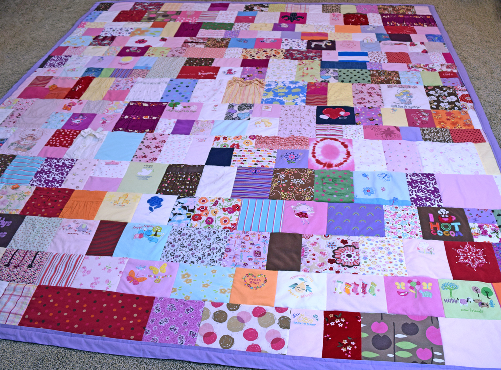 Baby Clothes Quilt Shirt
