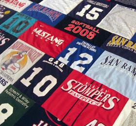 T Shirt Quilt T Shirt Blanket Tee Shirt Quilt Jelly