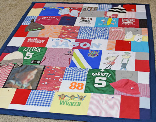 Jason Baby Clothing Quilt