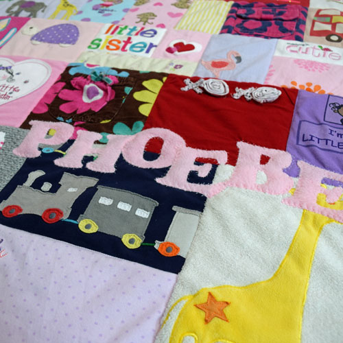 Phoebe - Baby Clothing Quilt