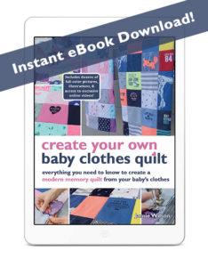 DIY Baby Clothes Quilt EBook